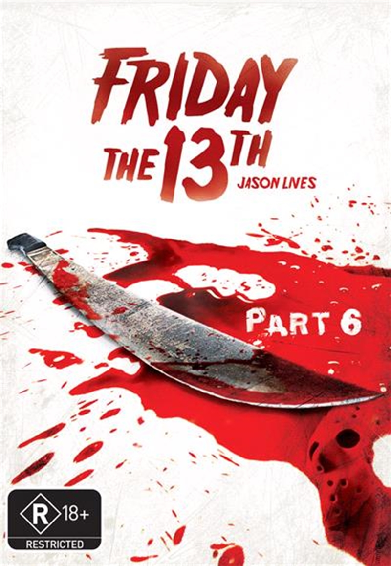 Friday The 13th - Part 06 - Jason Lives (New Packaging)   DVD