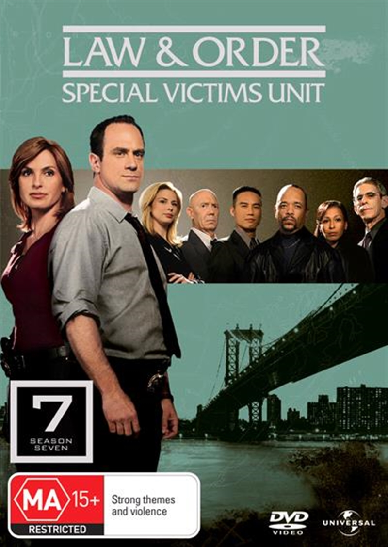 Law And Order: Special Victims Unit - Season 07 | DVD