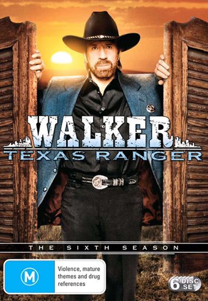 Walker, Texas Ranger - Season 6 | DVD