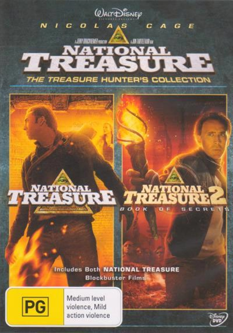 National Treasure / National Treasure- Book of Secrets | DVD