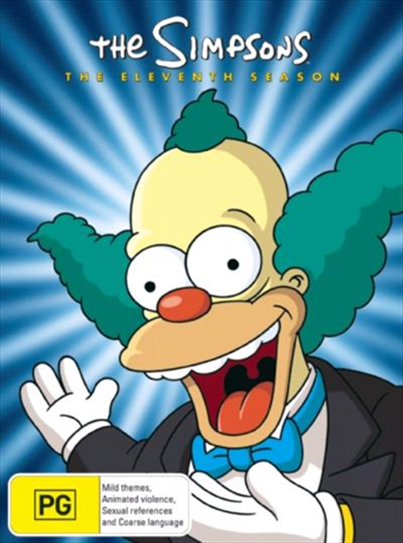 Simpsons, The- Complete Eleventh Season | DVD