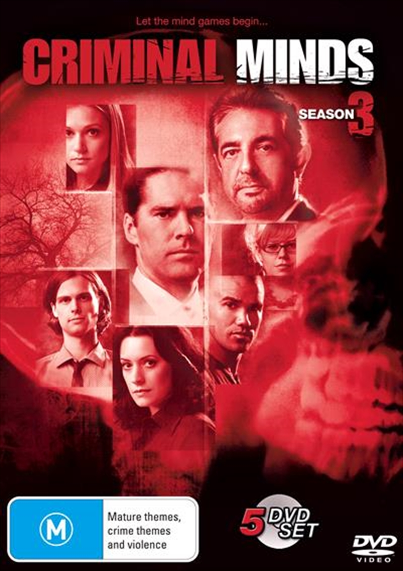 Criminal Minds - Season 3 | DVD
