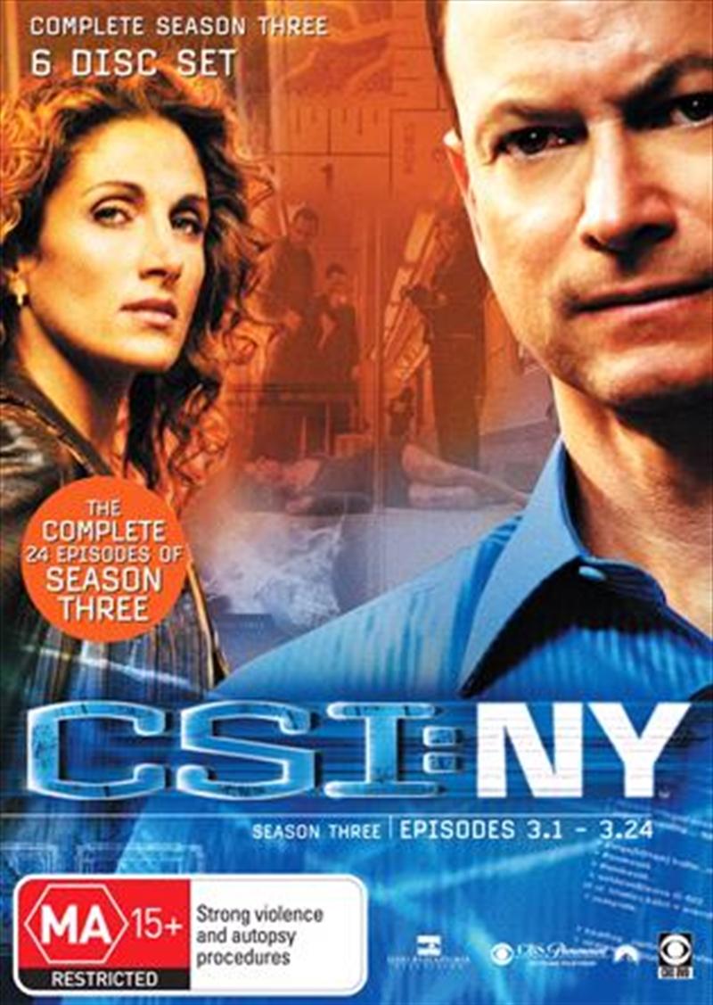 CSI: NY - Season 03 | DVD