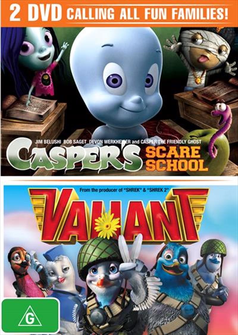 Casper's Scare School / Valiant   DVD
