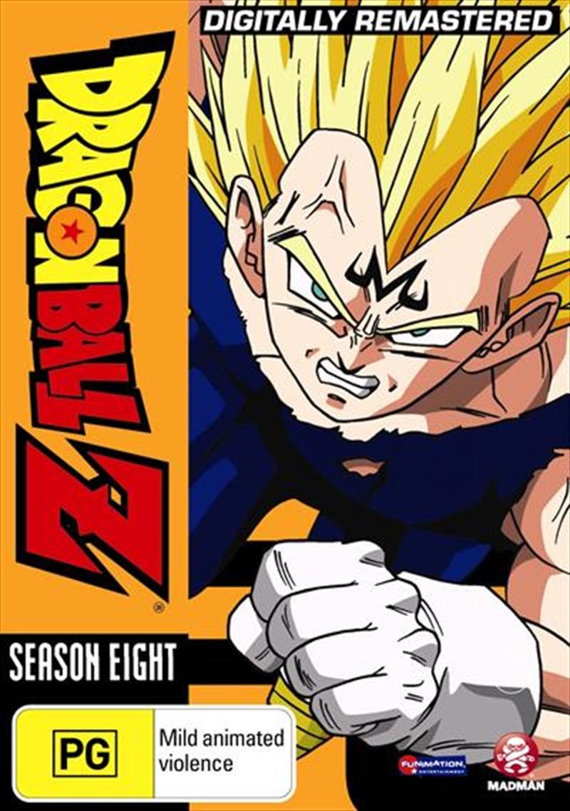Dragon Ball Z - Remastered - Uncut Season 8 | DVD