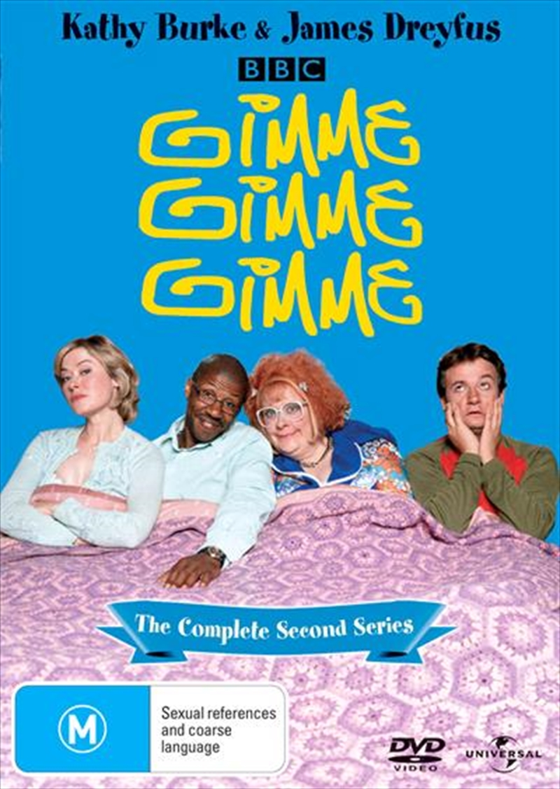 gimme gimme gimme complete series comedy dvd sanity