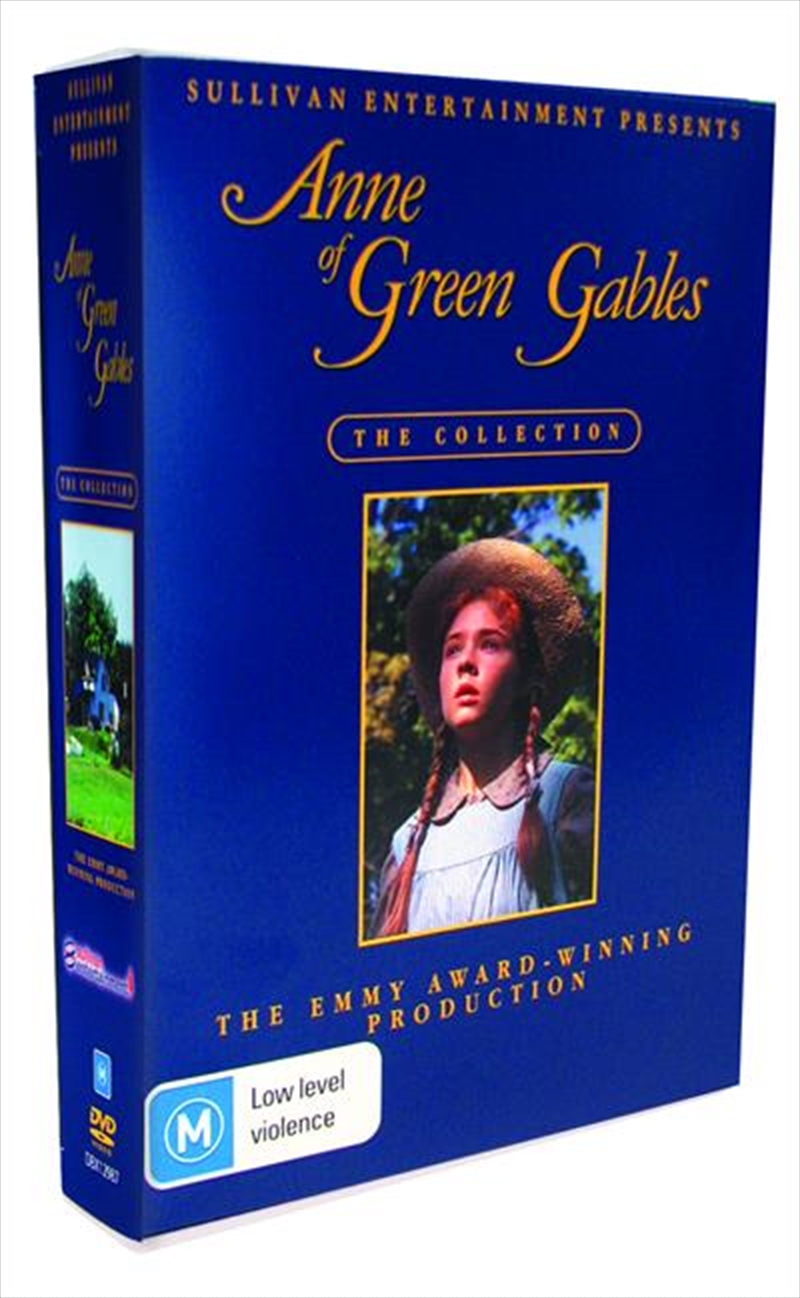 Anne Of Green Gables The Trilogy Collection Drama Dvd