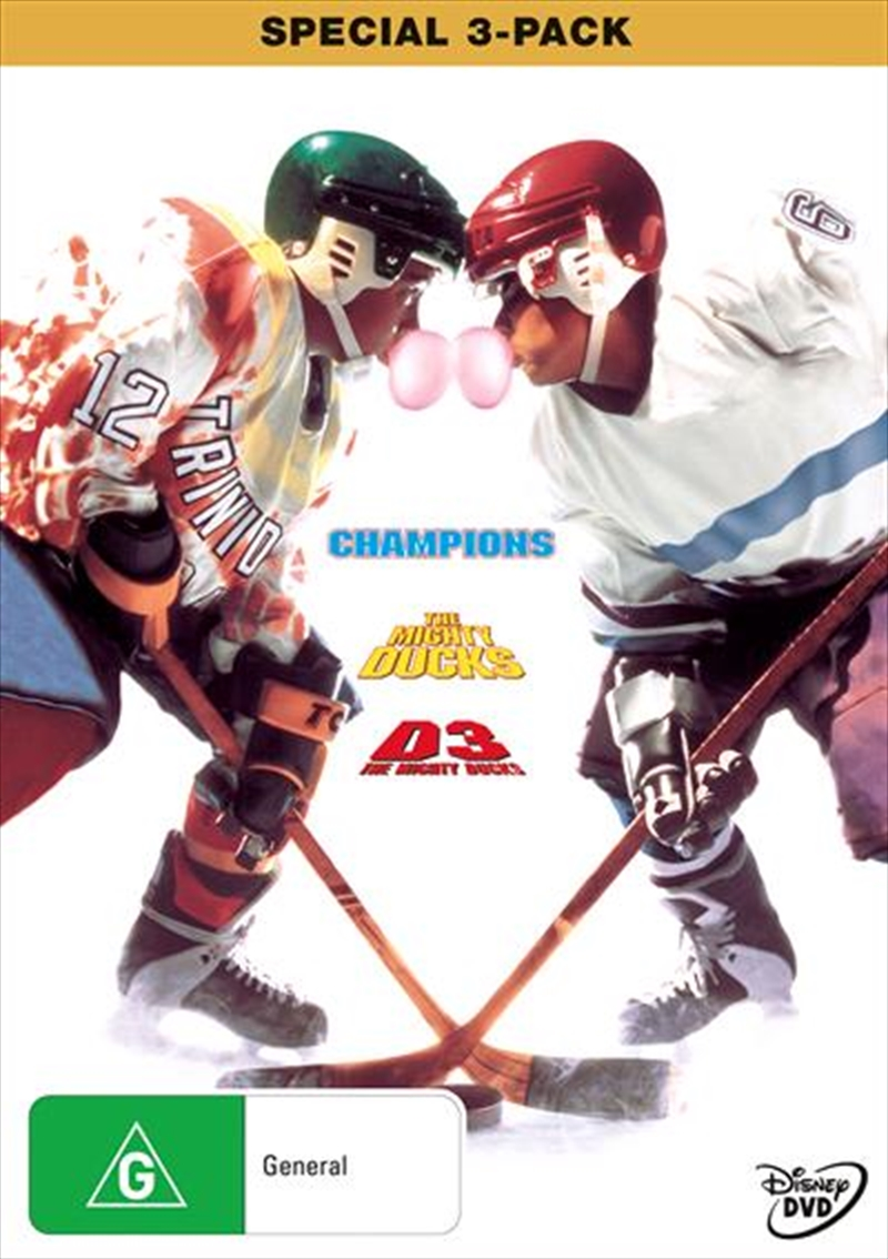 Mighty Ducks Trilogy, The   DVD