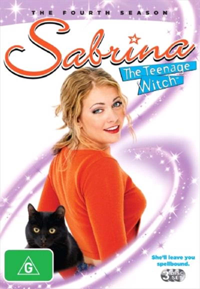 Sabrina the Teenage Witch - The Fourth Season   DVD