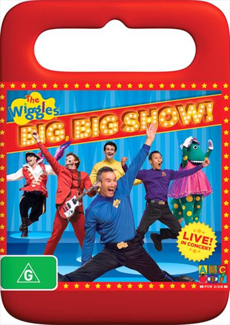 Wiggles Big Big Show The Abc Dvd Sanity