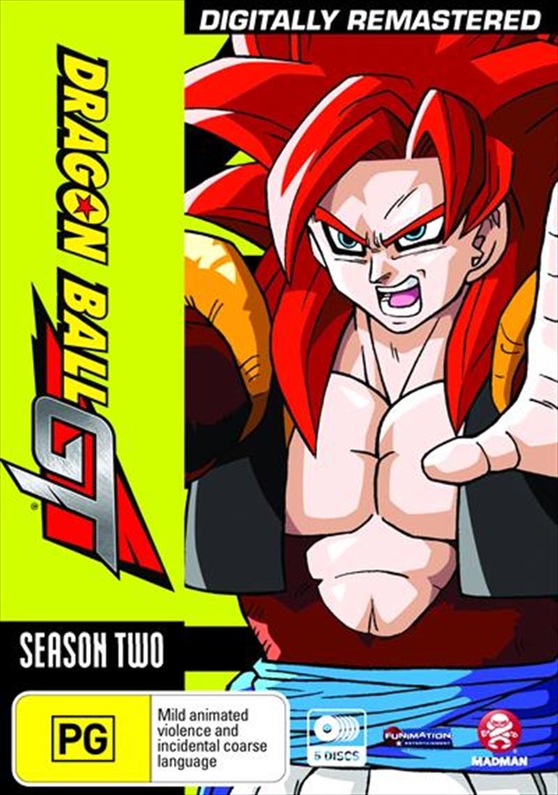 Dragon Ball GT Remastered Uncut - Season 2 | Plus Movie | DVD