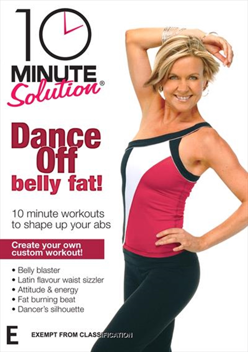 10 Minute Solution:  Dance Off Belly Fat! | DVD