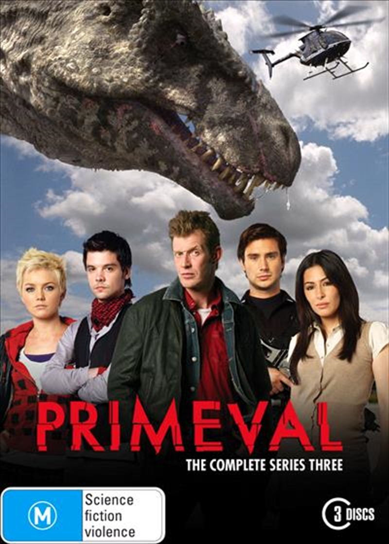 Primeval - The Complete Third Series | DVD