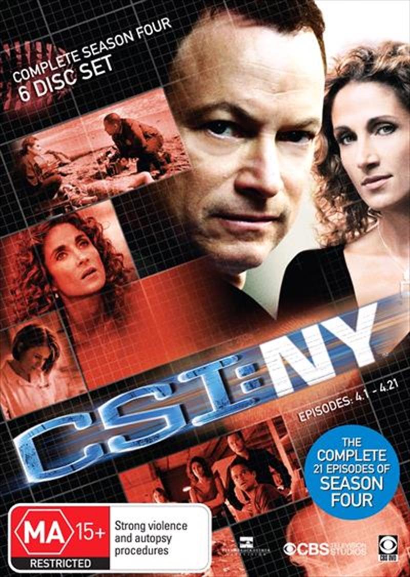 CSI: NY - Season 04 | DVD