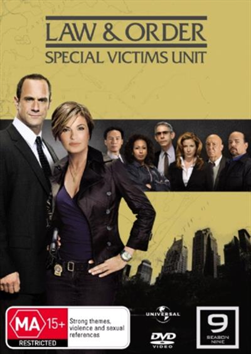 Law And Order: Special Victims Unit - Season 09 | DVD