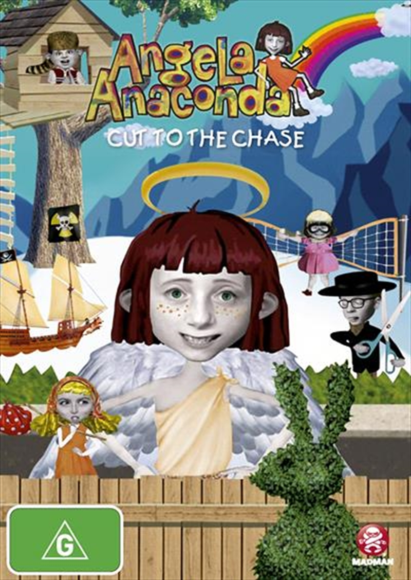Angela Anaconda - Vol 04 - Cut To The Chase | DVD
