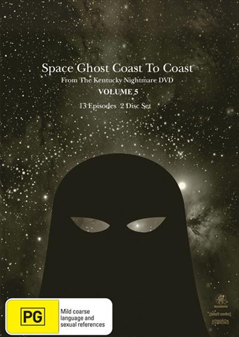 Space Ghost Coast To Coast Season 5 Animated Dvd Sanity