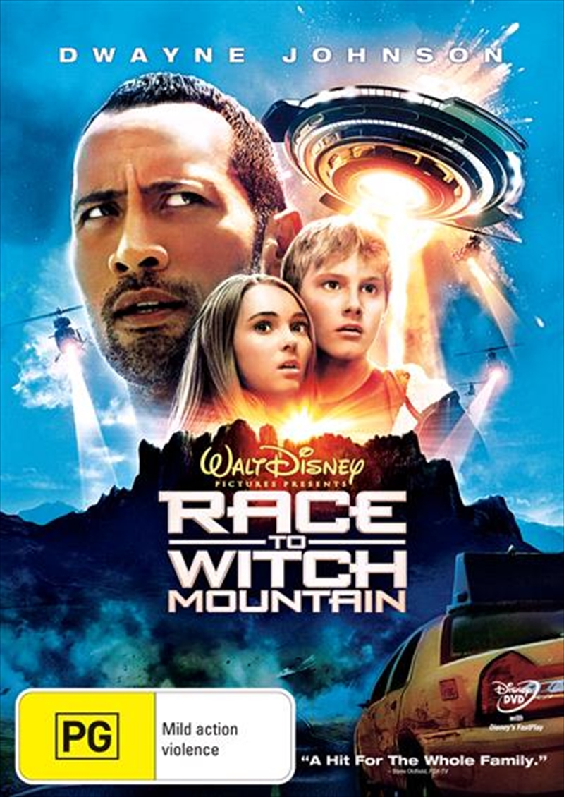 Race To Witch Mountain | DVD