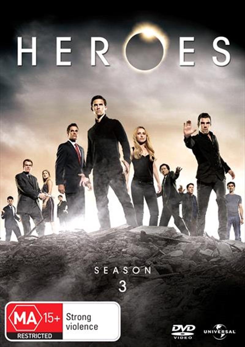 Heroes - Season 3 | DVD
