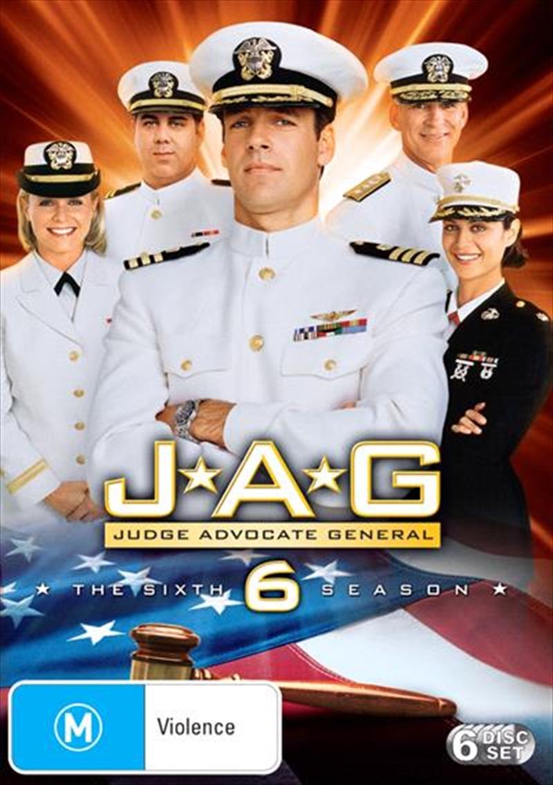 JAG - Season 06 | DVD