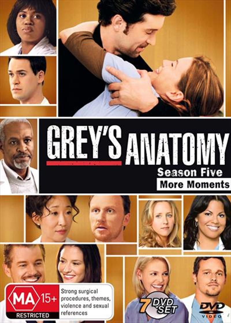 Grey's Anatomy - Season 05 | DVD