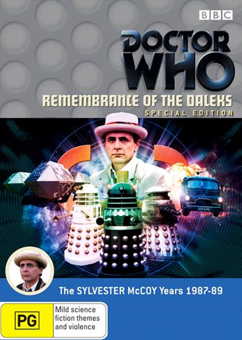 Doctor Who - Remembrance Of The Daleks | Special Edition | DVD