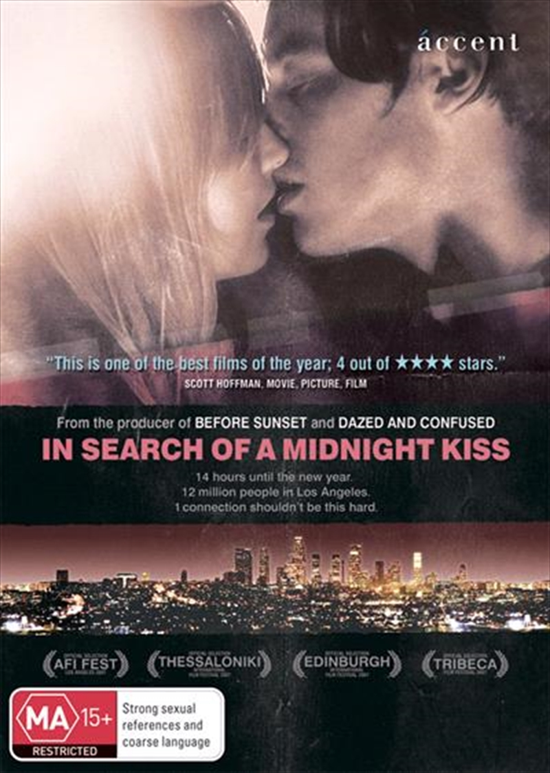 In Search Of A Midnight Kiss   DVD