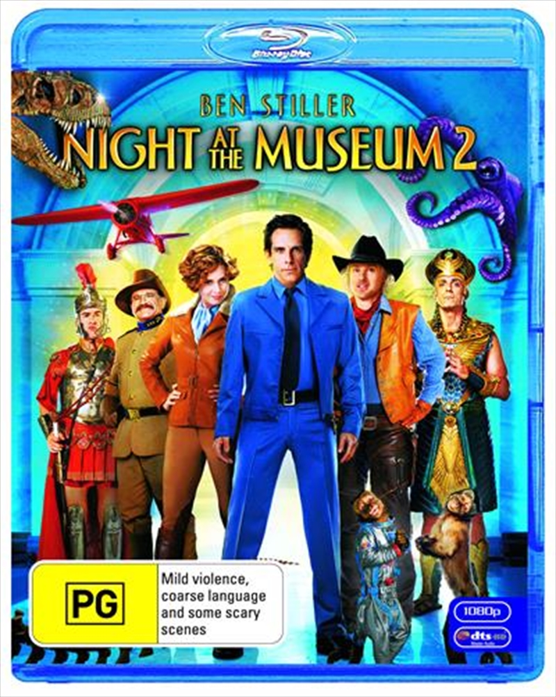 Night At The Museum 2 | Blu-ray