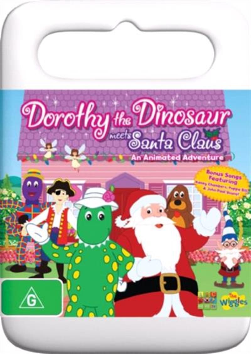 Dorothy The Dinosaur Meets Santa Claus ABC, DVD | Sanity Wiggles Dorothy The Dinosaur Dvd
