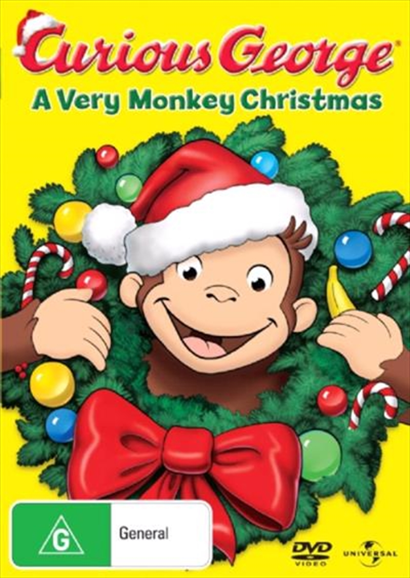 Curious George - A Very Monkey Christmas | DVD