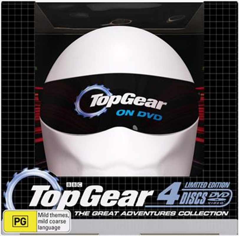 Top Gear: The Great Adventures Collection (Collectible Helmet Packaging) | DVD