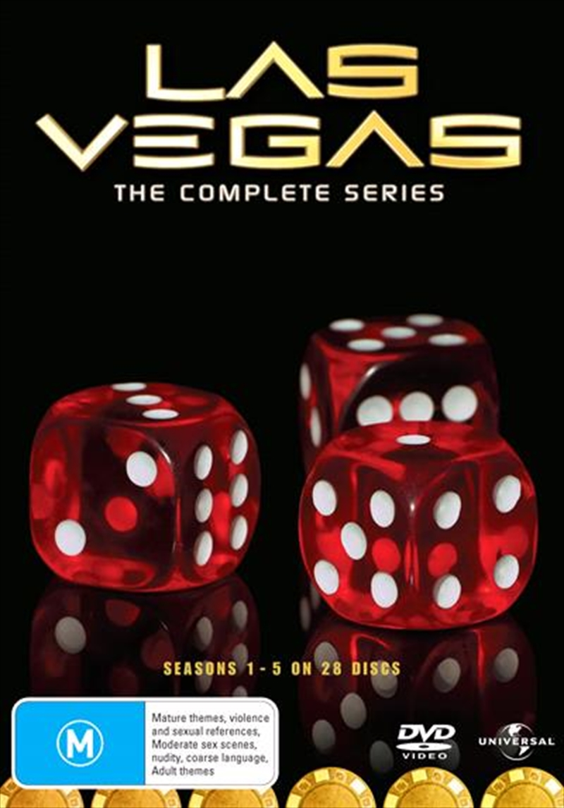 Las Vegas - Season 1-5 | Boxset | DVD