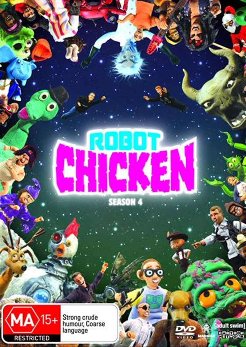 Robot Chicken - Season 04 | DVD