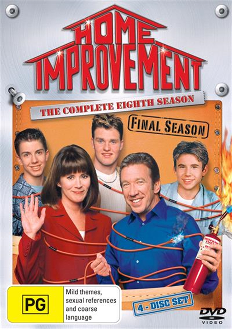 Home Improvement - The Complete Eighth Season | DVD