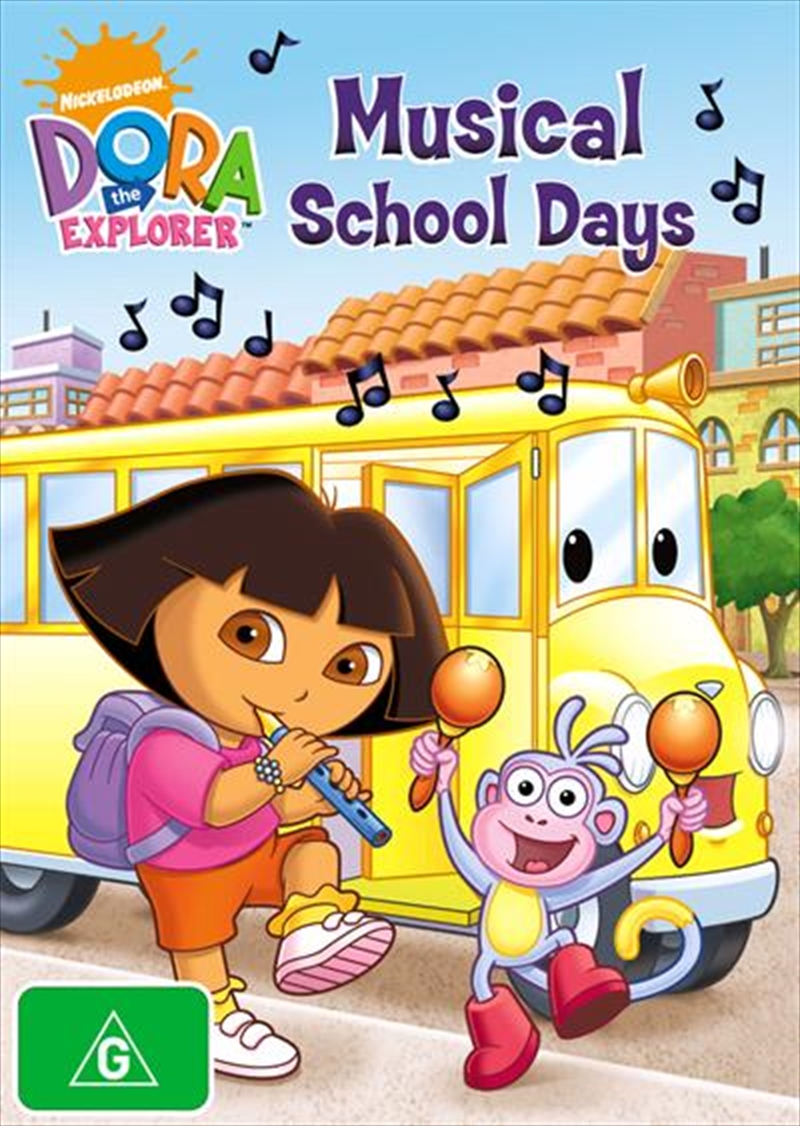 Dora The Explorer - Musical School Days | DVD