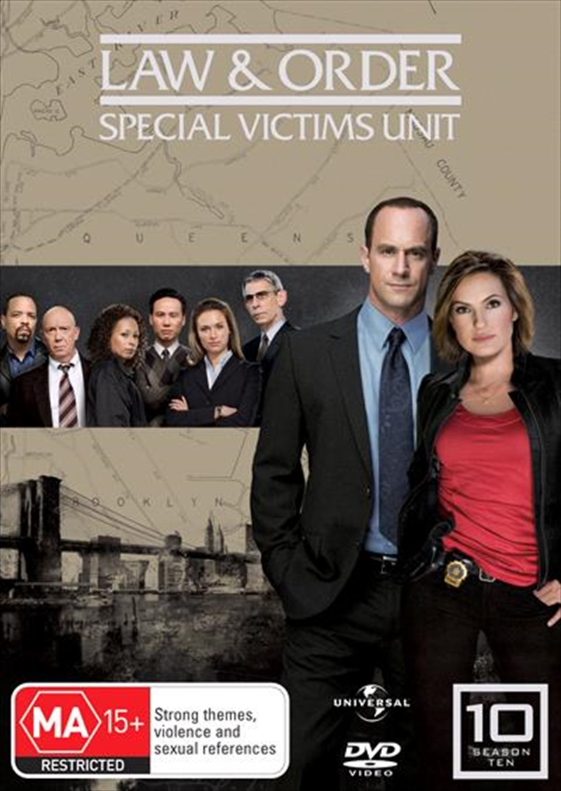 Law And Order: Special Victims Unit - Season 10   DVD
