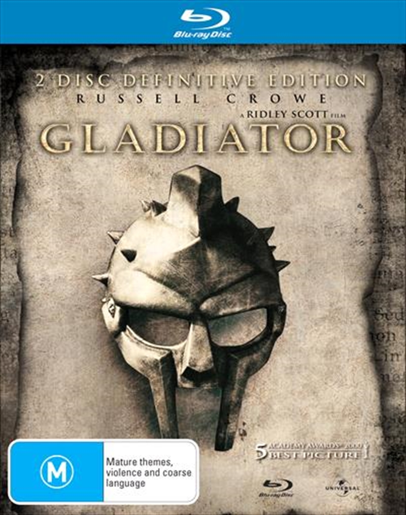 Gladiator - Definitive Edition | Blu-ray