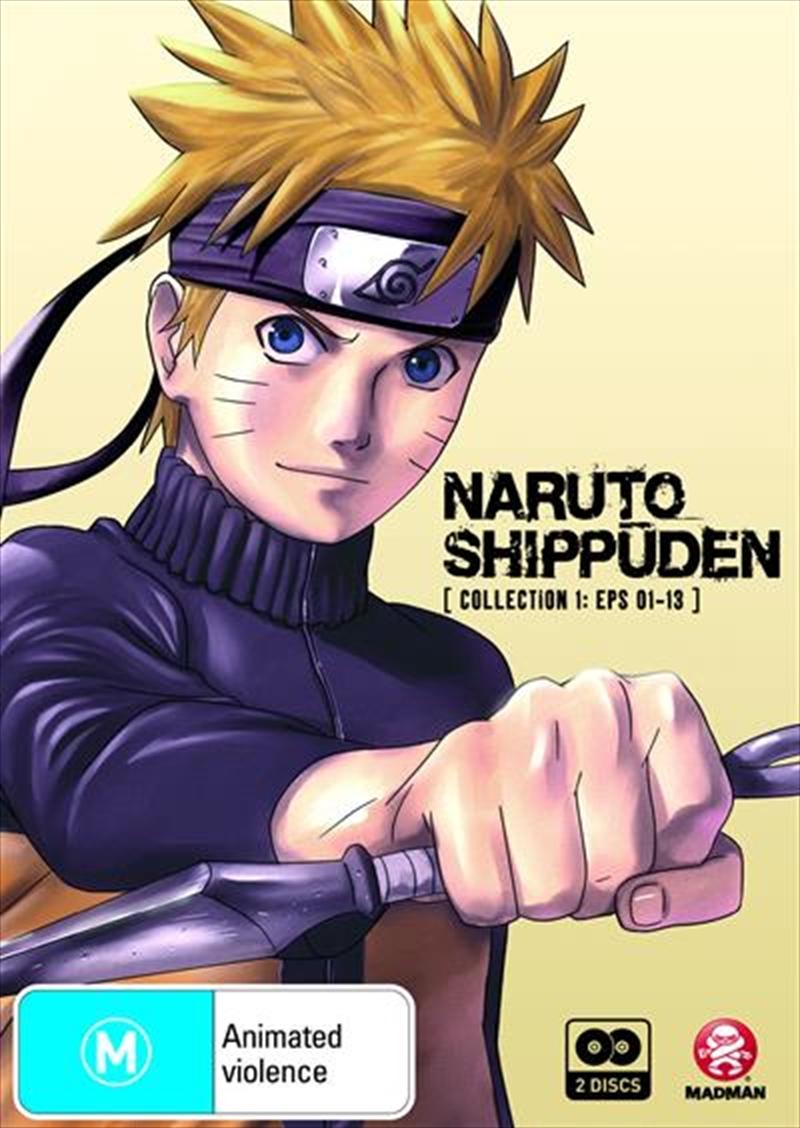Naruto Shippuden - Collection 1 - Eps 01-13 | DVD