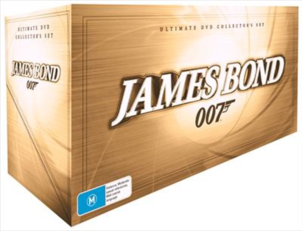 James bond 007 magazine | ultimate edition dvd guide.