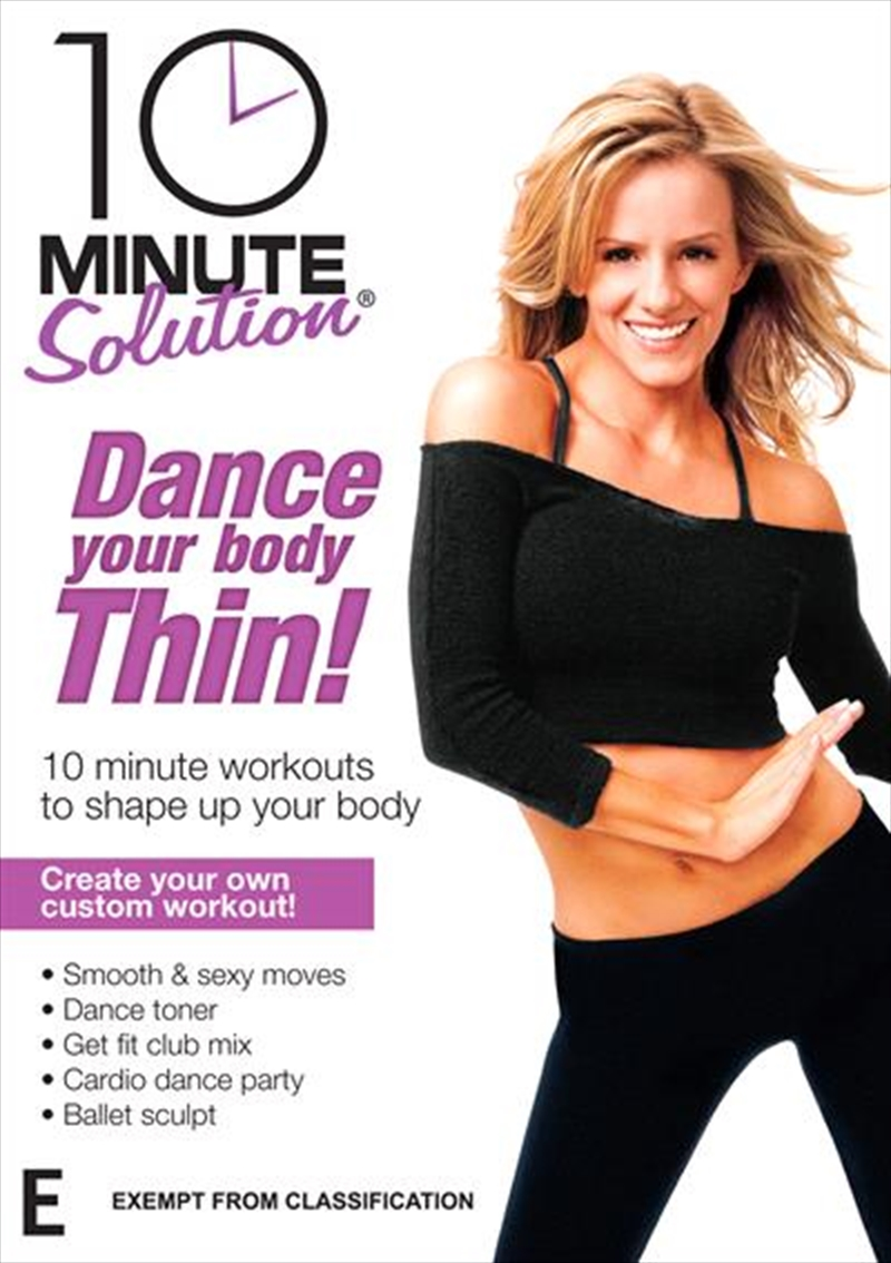 10 Minute Solution: Dance Your Body Thin | DVD
