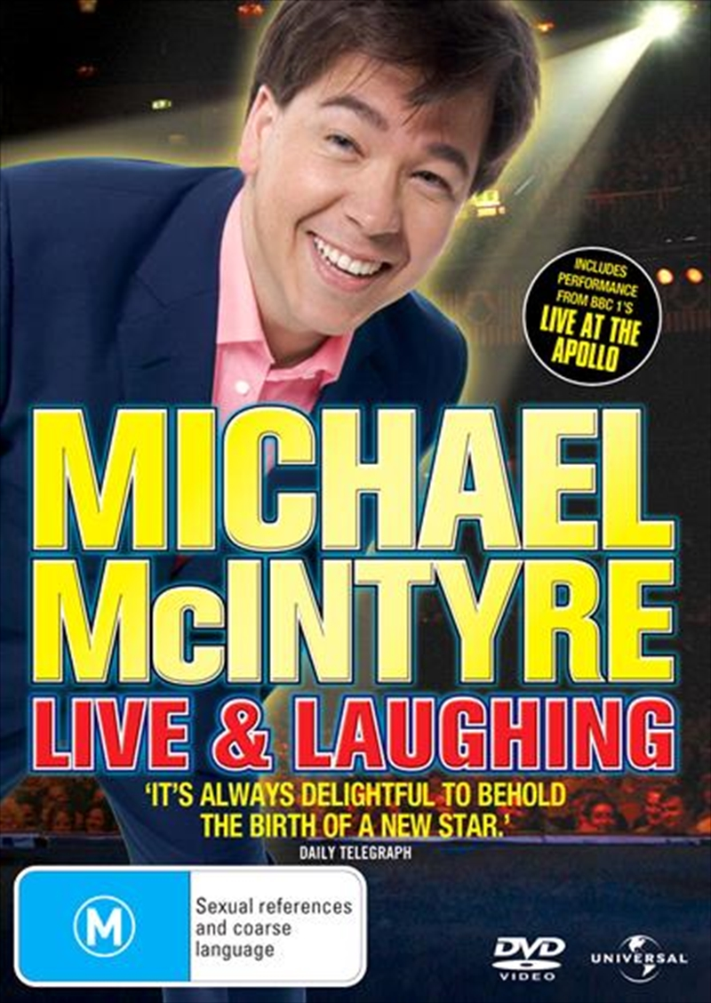 Michael McIntyre: Live And Laughing | DVD