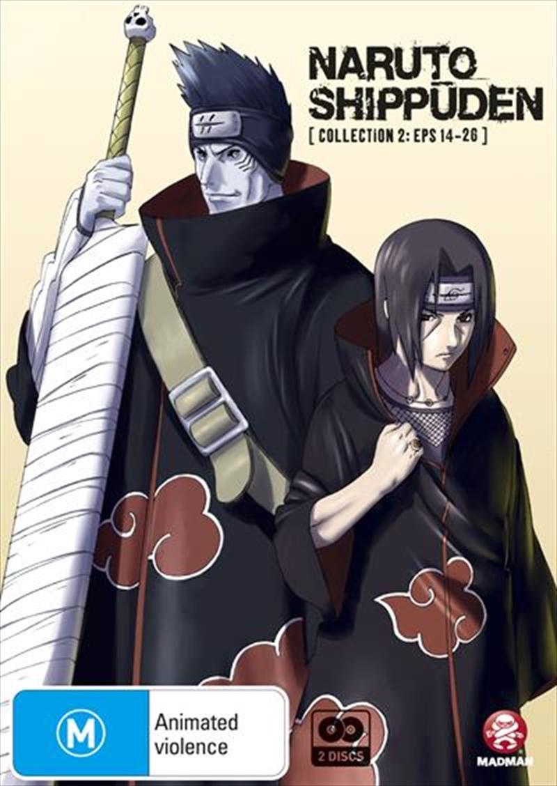 Naruto Shippuden - Collection 2 - Eps 14-26 | DVD