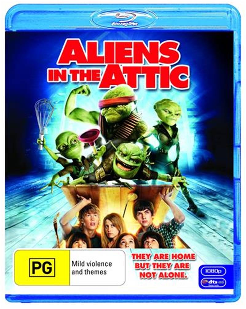Aliens In The Attic   Blu-ray