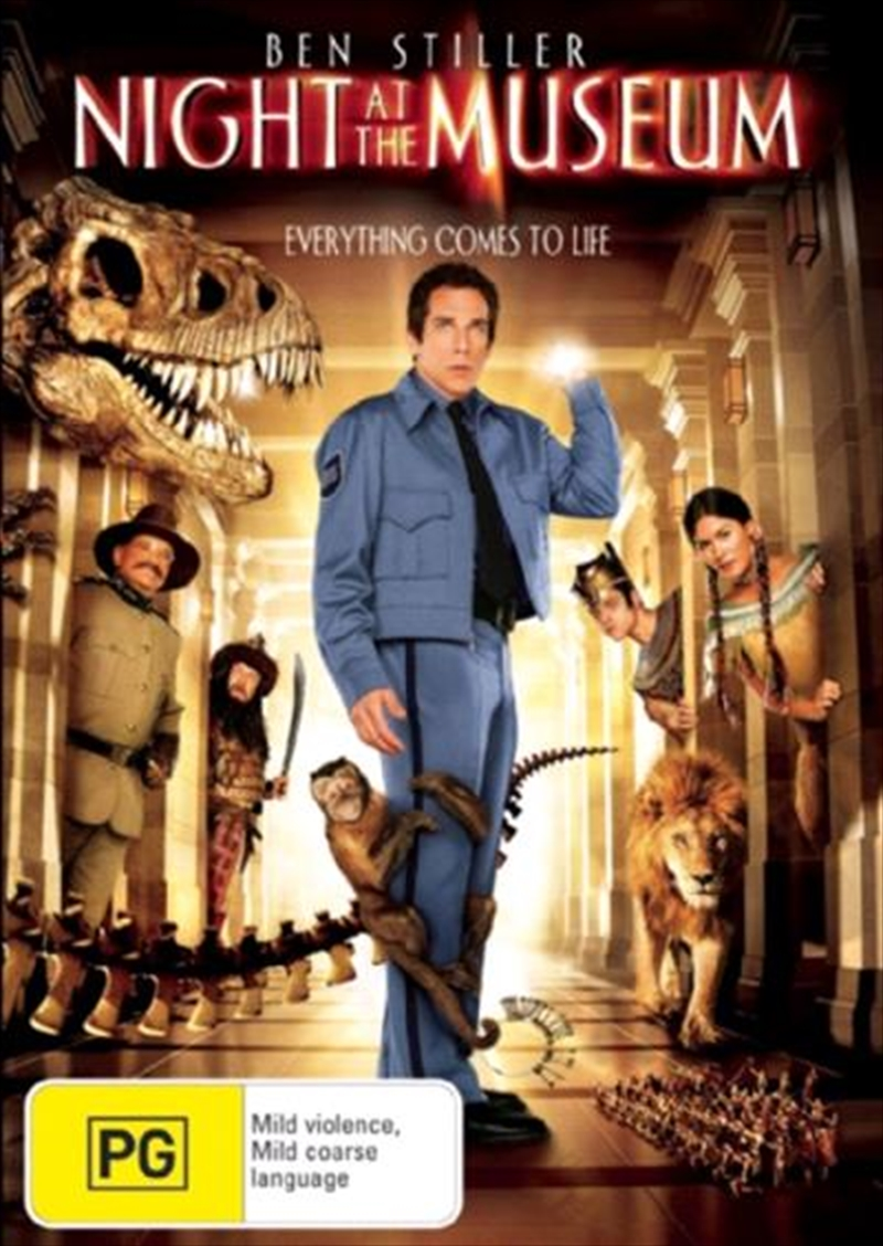 Night At The Museum | Blu-ray