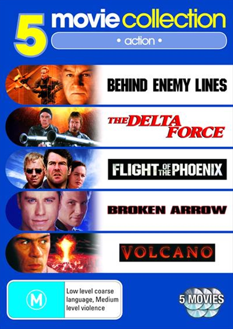 Action Collection - Behind Enemy Lines / The Delta Force / Flight Of