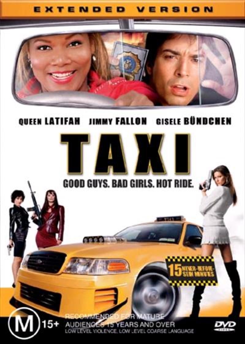 taxi comedy dvd sanity. Black Bedroom Furniture Sets. Home Design Ideas