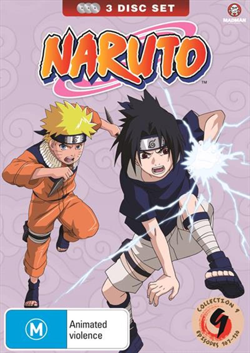 Naruto - Collection 9   DVD