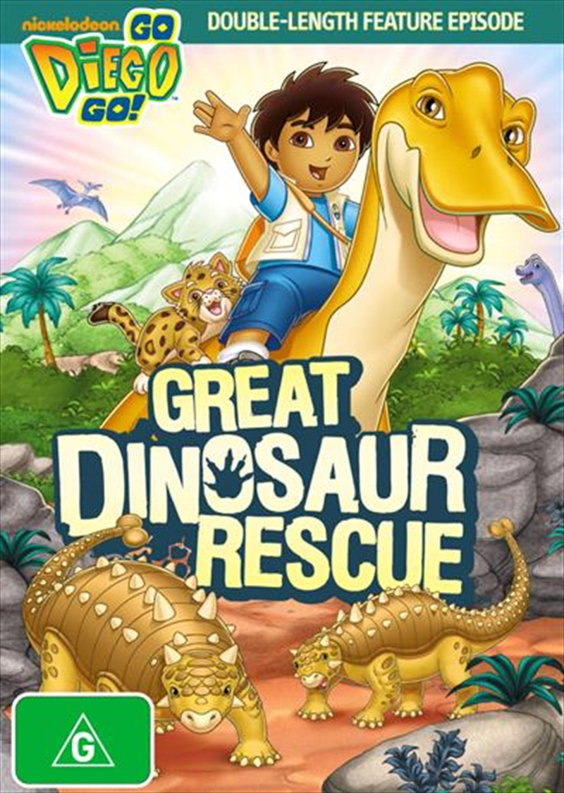Go Diego Go: Great Dinosaur Rescue | DVD