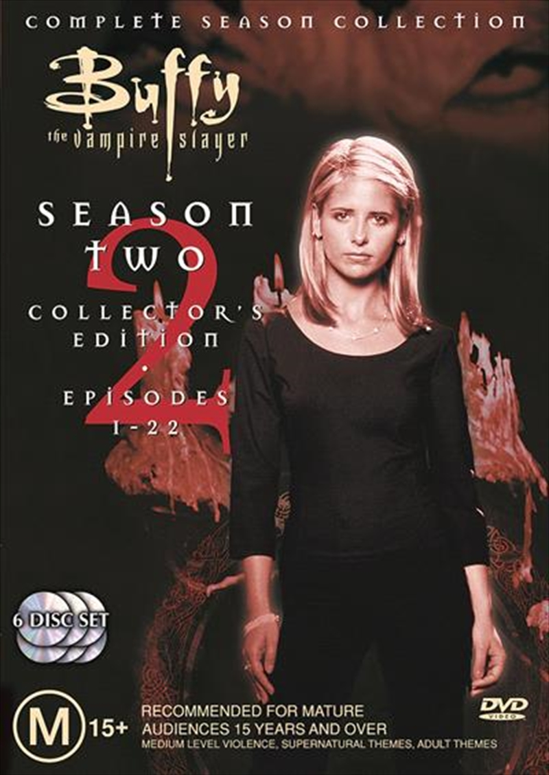 Buffy The Vampire Slayer - Season 02 | DVD