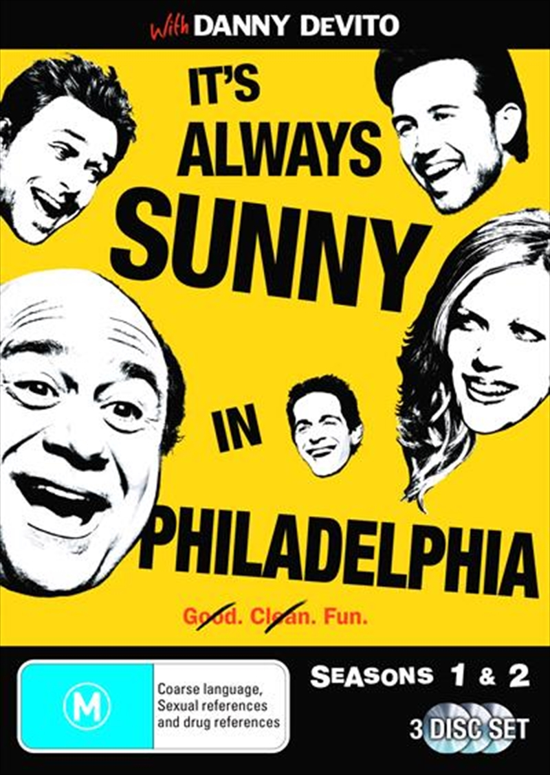 It's Always Sunny In Philadelphia - Seasons 01 and 02 | DVD